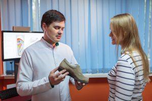 chaussure médicale femme
